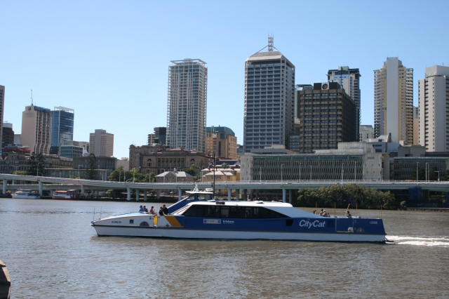 Downtown Brisbane, seen from South Brisbane